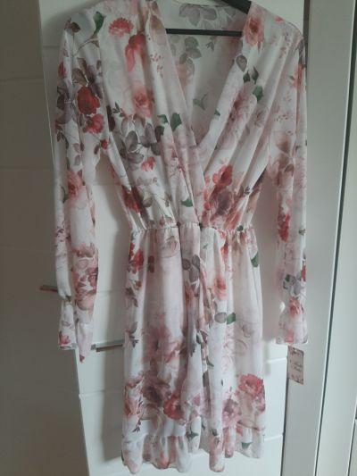 Suknie i sukienki NOWA sukienka w kwiatki