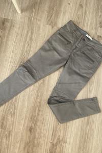 Skórzane spodnie Balmain...