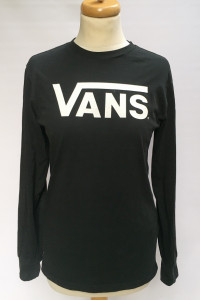 Bluzka Czarna Vans S 36 Długi Rękaw Koszulka T Shirt...