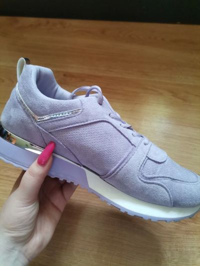 Sportowe Liliowe buty sportowe Mikayla