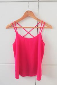 Różowa neonowa bluzka Papaya...