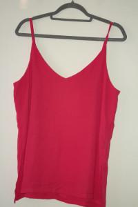 H&M Różowa letnia bluzka na ramiączkach 44...