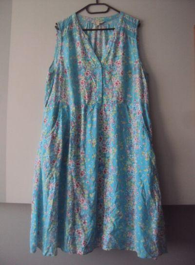 Suknie i sukienki letnia sukienka kwiatuszki