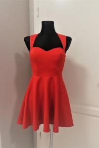 Czerwona rozkloszowana sukienka oneness Wesele...
