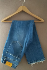 Jeansy straight fit 36 S...