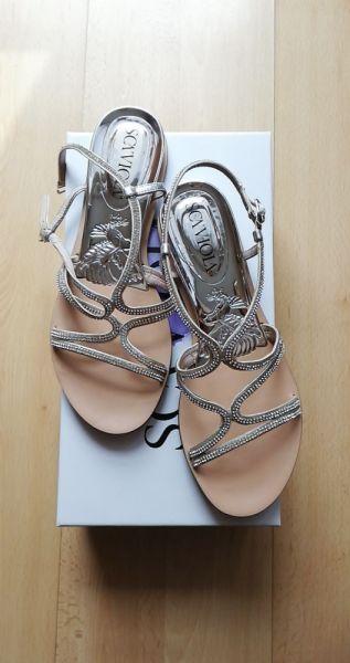 Sandały Sandały srebrne