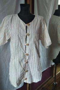 Koszula w paski prążki rozmiar M Tutto koszula oversize...