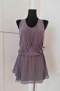 Szara sukienka tunika Warehouse...