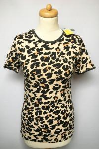 Bluzka T Shirt NOWA Tom&Rose S Panterka Cętki...