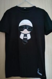 Koszulka Fendi Karl Lagerfeld