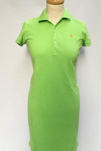 Sukienka Ralph Lauren Zielona Neonowa XS 34 Koszulkowa
