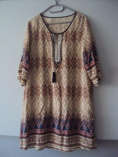 Suknie i sukienki sukienka w stylu boho