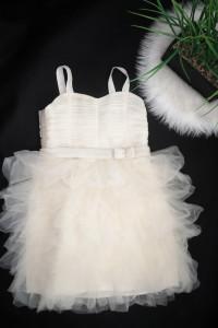 H&M Sukienka damska dla dziewczynki tiulowa księżniczka kremowa...