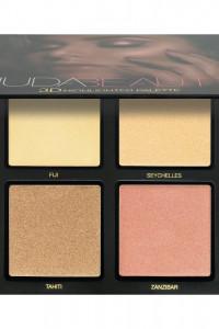 Huda Beauty Paleta Rozświetlaczy Golden Sands