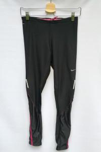 Legginsy Czarne Sportowe Nike Dri Fir S 36 Bieganie...