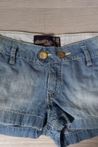 Damskie szorty jeansowe...