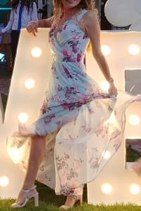 sukienka maxi piękna zwiewna 36...