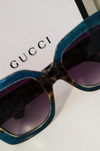 Luksusowe Okulary Gucci Glitter Leopard Nowe