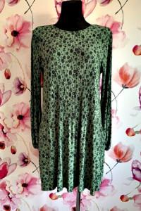 stradivarius sukienka plisowana modny wzór kwiaty nowa hit 38...