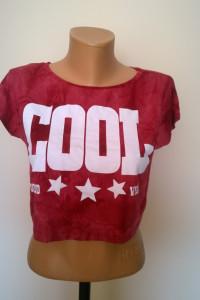 crop top tie dye XS S...