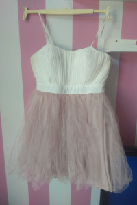 Sukienka na wesele mini rozkloszowana Princesska Princessa M L z gorsetem