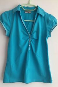 turkusowa bluzeczka Nottinghill cyrkonie rozm 36
