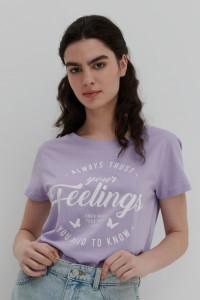Koszulka House fioletowa...