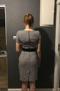 Sukienka w kratke...