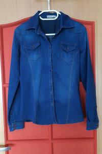 Jeansowa koszula XS S...