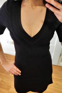 Mała czarna sukienka H&M...