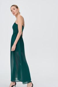 Zielona sukienka maxi Sinsay S nowa z metką...