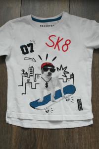 Reserved koszulka biała 110