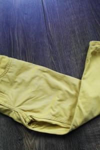 H&M spodnie musztardowe chłopięce 110...