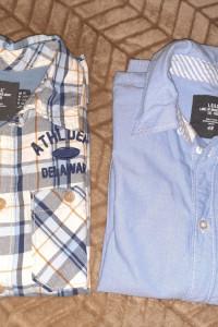 Dwie młodzieżowe koszule H&M 152 cm...