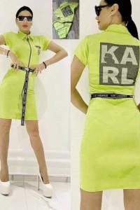 Sukienka na lato logowany KARL od S do X...