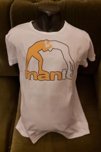 Nowy tshirt training white S MANTO...