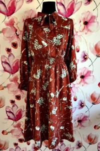 2Bme sukienka modny wzór i fason kwiaty nowa hit 36...