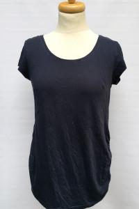 Bluzka Koszulka Ciążowa H&M Mama Granatowa M 38 T Shirt...