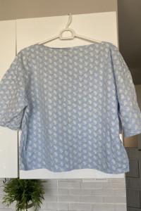 vintage błękitna bluzka...