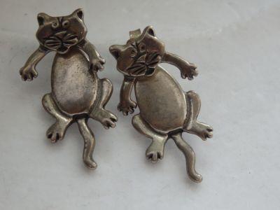 Kolczyki Kolczyki kotki 925