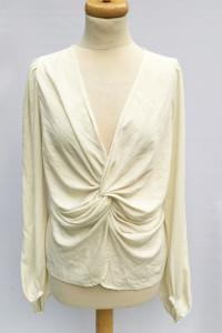 Bluzka Kemowa Marszczona Elegancka XL 42 Miss Selfridge...