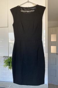 French Connection czarna sukienka ołówkowa elegancka...