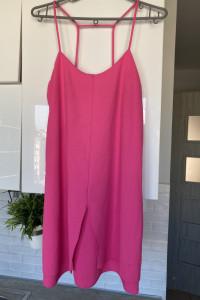 Topshop różowa sukienka prosta pink stan jak na zdj...