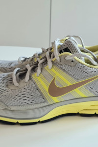 Nike Pegasus rozm 385 damskie szare do biegania run running...
