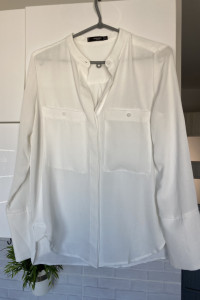 Mango biała bluzka koszula elegancka...