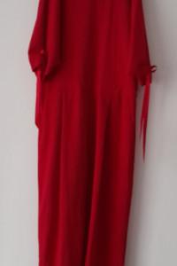 New Look Czerwony elegancki kombinezon 42...
