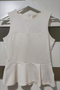 Śliczna baskinka H&M kremowa ecru 36 S...