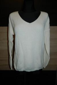 luźny ciepły sweter roz M L...