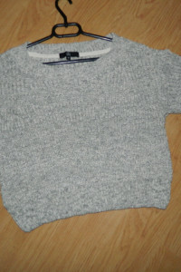 Missguided krótki sweter sweterek roz 38...