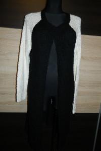 Vila długi sweter narzutka kardigan roz L...